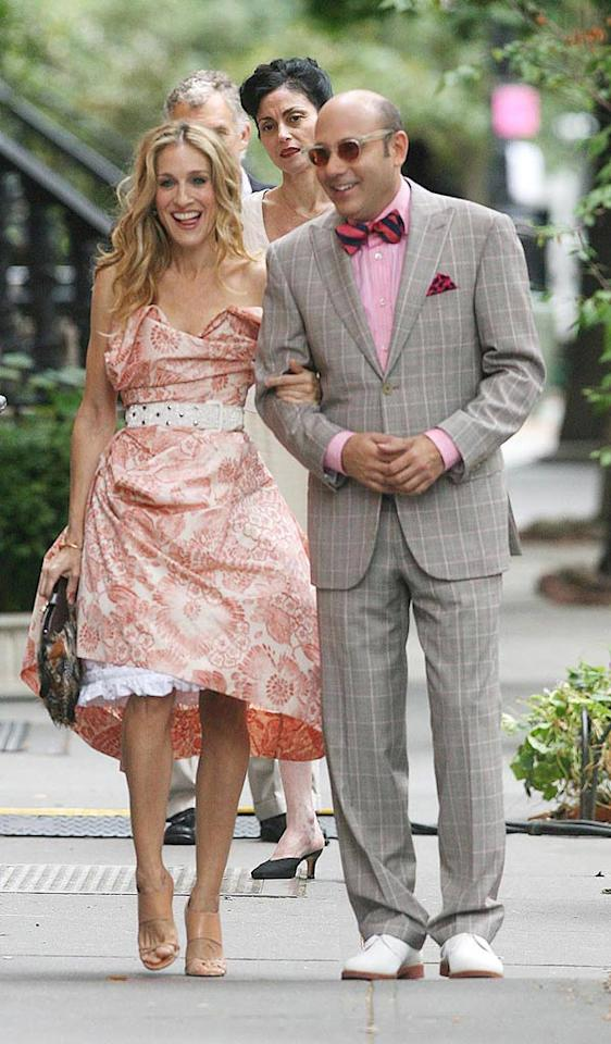 "Carrie reunites with her BFF Stanford (Willie Garson) in ""Sex and the City: The Movie."" <a href=""http://www.infdaily.com"" target=""new"">INFDaily.com</a> - October 1, 2007"