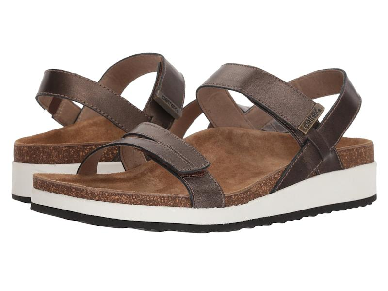 Aetrex Bethany Sandals. (Photo: Zappos)