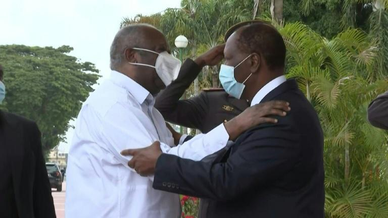 I. Coast President Ouattara offers hearty welcome to predecessor Gbagbo
