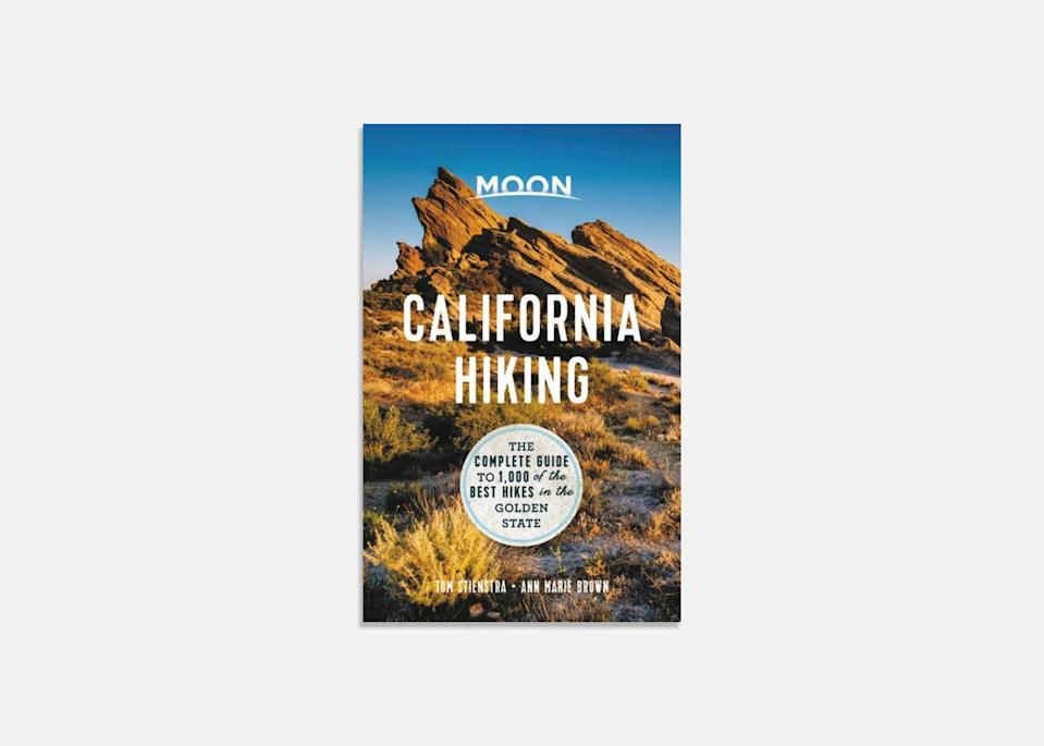 "I'm really into these trail guidebooks from <a href=""https://cna.st/affiliate-link/2WCz5sTzkxBSE8jMytWSahXH552m2MYCCFN9GGSrYwXKfasQdGUFXz6GFGwiXq51ubJvM5AcGUC3TkWBPNKqXqhj82NizPgJuzsSLQFxFTcZypJwTtnpG7k6VBkLiXrQ7wmPYLFxHgnhAXLwM4LN?cid=606e2c116848a388c5617623"" rel=""nofollow noopener"" target=""_blank"" data-ylk=""slk:Moon"" class=""link rapid-noclick-resp"">Moon</a>. I recently bought one that has the best 1,000 hikes in California and have been earmarking a bunch that are easy drives from my home. I love that their trail ratings factor in not only how beautiful the vistas and landscapes are, but also how crowded a given hike can be. Moon also has books that cover other states and regions; I just sent my mom, who lives in Portland, Oregon, one that covers the best hikes in the <a href=""https://www.cntraveler.com/gallery/the-most-beautiful-places-in-the-pacific-northwest?mbid=synd_yahoo_rss"" rel=""nofollow noopener"" target=""_blank"" data-ylk=""slk:Pacific Northwest"" class=""link rapid-noclick-resp"">Pacific Northwest</a>. $25, Bookshop. <a href=""https://bookshop.org/books/moon-california-hiking-the-complete-guide-to-1-000-of-the-best-hikes-in-the-golden-state-9781640498983/9781640498983"" rel=""nofollow noopener"" target=""_blank"" data-ylk=""slk:Get it now!"" class=""link rapid-noclick-resp"">Get it now!</a>"