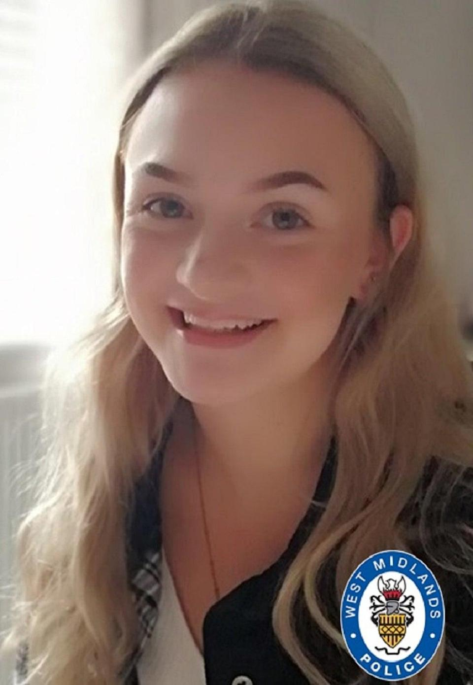 Isabelle Floyd, 16, who died in the crash (PA Media)