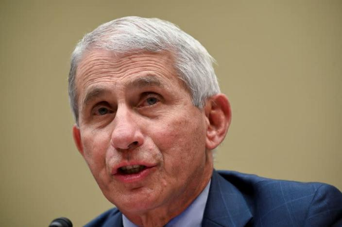 FILE PHOTO: Fauci testifies before coronavirus panel