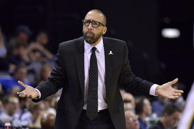 David Fizdale had his issues in Memphis, but the issues with the Grizzlies run much deeper. (AP)