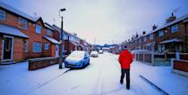 <p>Amber warnings for snow are in place for the South East and North East of England until midday. (PA) </p>