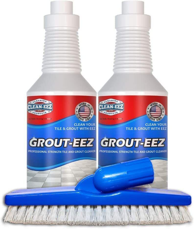 """It'llloosen up all the dirt in between your tiles, because a sparkly clean floor can go a long way in revitalizing your kitchen.The kit comes with two bottles of Grout-Eez and a scrubber that you can attach to a standard mop or broom pole.<br /><br /><strong>Promising review:</strong>""""This is an excellent product.<strong>I have tried several grout cleaners over the past 15 years since the majority of our flooring has been ceramic tile. This product surpassed all of them. In fact, nothing has ever worked this quickly.</strong>The three best features included (1) the instructions on both the bottle and with the product were clear and I followed them to a tee, (2) the perfect brush that came with it that fit perfectly into my grout lines and was easy to attach to an existing handle and (3) how easily the soil was removed from the grout. I would recommend using this around one tile first and definitely wait the 10 minutes then wiggle the brush in the grout lines. The soil comes up quickly."""" — <a href=""""https://www.amazon.com/gp/customer-reviews/R12P807J63D8C4?&linkCode=ll2&tag=huffpost-bfsyndication-20&linkId=9964d2fc5084ec77bbe50bd6972c3b17&language=en_US&ref_=as_li_ss_tl"""" target=""""_blank"""" rel=""""noopener noreferrer"""">Karen</a><br /><br /><strong><a href=""""https://www.amazon.com/Grout-EEZ-brightener-Destroys-Floor-Guys/dp/B0721NFGC4?&linkCode=ll1&tag=huffpost-bfsyndication-20&linkId=b0a5c3c25a0ad8cdeb5da00ef41af395&language=en_US&ref_=as_li_ss_tl"""" target=""""_blank"""" rel=""""noopener noreferrer"""">Get it from Amazon for $39.95.</a></strong>"""