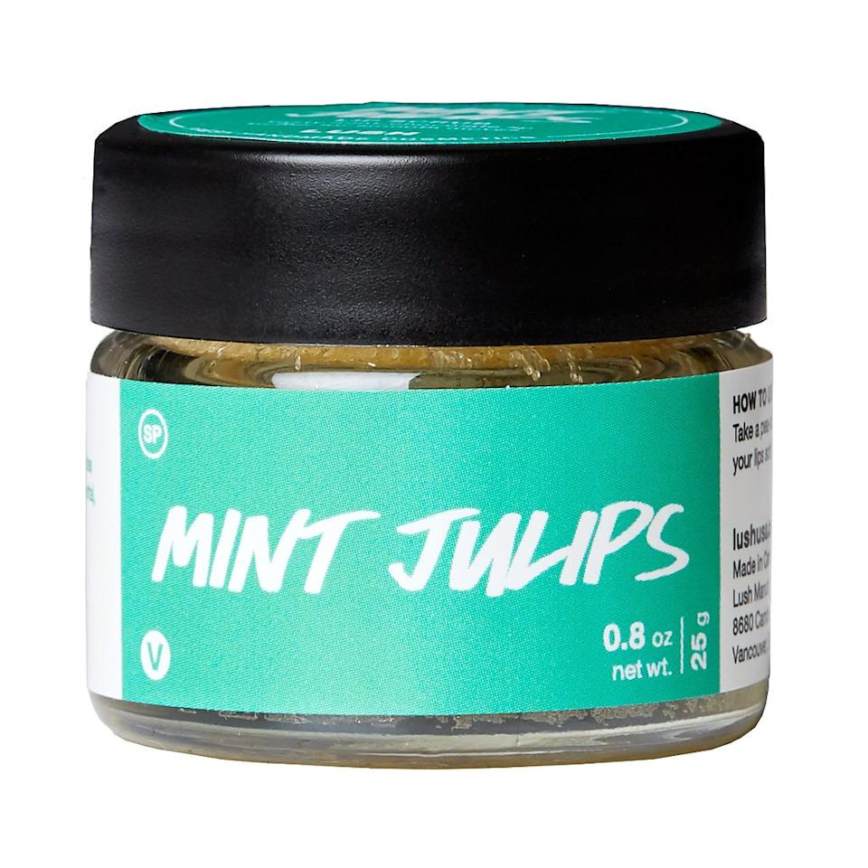Lush Mint Julips Lip Scrub (Photo via Lush)