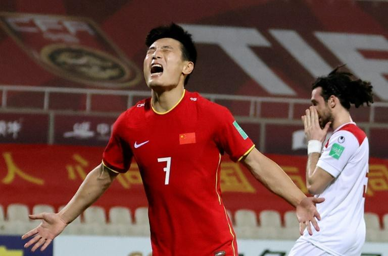 Wu Lei scored as China beat Syria to secure a place in the next Asian qualifying round