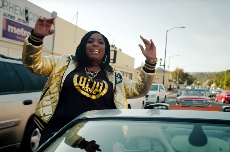 """Watch the Video for Kamaiyah """"F*ck It Up"""" Featuring YG"""