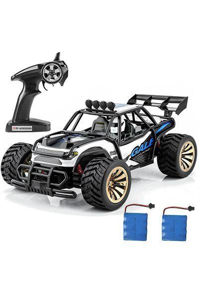 """<p>$50</p><p><a rel=""""nofollow noopener"""" href=""""https://www.amazon.com/Distianert-Electric-Vehicle-Control-Monster/dp/B06Y444YX7/ref=pd_ybh_a_1"""" target=""""_blank"""" data-ylk=""""slk:SHOP NOW"""" class=""""link rapid-noclick-resp"""">SHOP NOW</a><br></p><p>This remote-controlled monster truck is super durable, so whoever's driving can smash it into walls, trees, and rocks without a worry.</p>"""