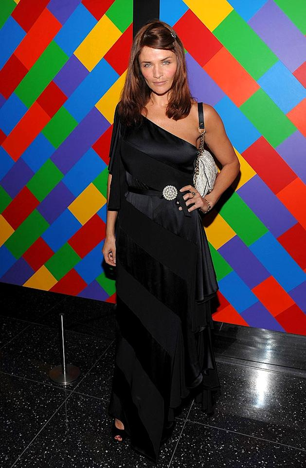 "Who rained on Helena Christensen's parade? Dimitrios Kambouris/<a href=""http://www.wireimage.com"" target=""new"">WireImage.com</a> - March 17, 2009"