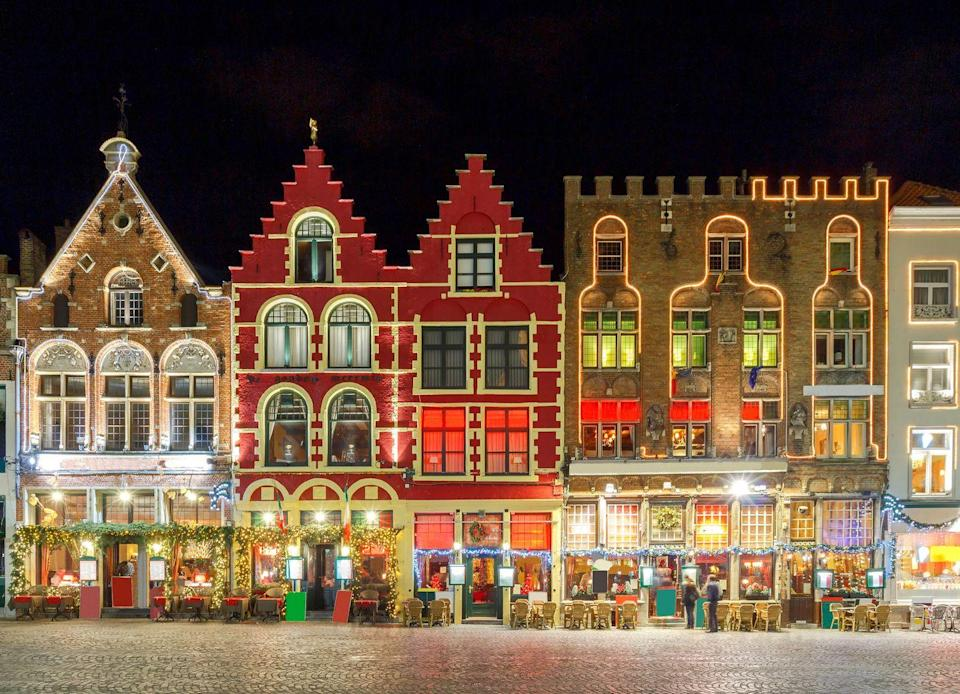 """<p>Christmas is a fantastic time of year for a short cruise, when you can see the twinkling lights of Europe's prettiest cities and do your Christmas shopping. Cunard offers one of the loveliest end of year sailings, with its four-day round trip from Southampton to Belgium and Holland. </p><p>Priced from £479, the mini-cruise takes you to vibrant Rotterdam, before you visit chocolate haven Bruges. While travelling on the Queen Victoria, you can watch impressive live music performances, tuck into afternoon tea and attend the cruise line's famous gala balls.</p><p><a class=""""link rapid-noclick-resp"""" href=""""https://www.cunard.com/en-gb/find-a-cruise/V128/V128"""" rel=""""nofollow noopener"""" target=""""_blank"""" data-ylk=""""slk:BOOK NOW"""">BOOK NOW</a></p>"""