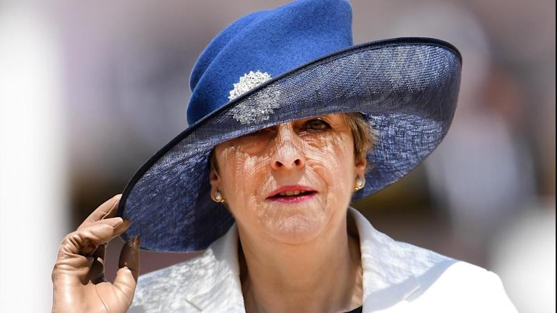 May 'shed a tear' over election failure