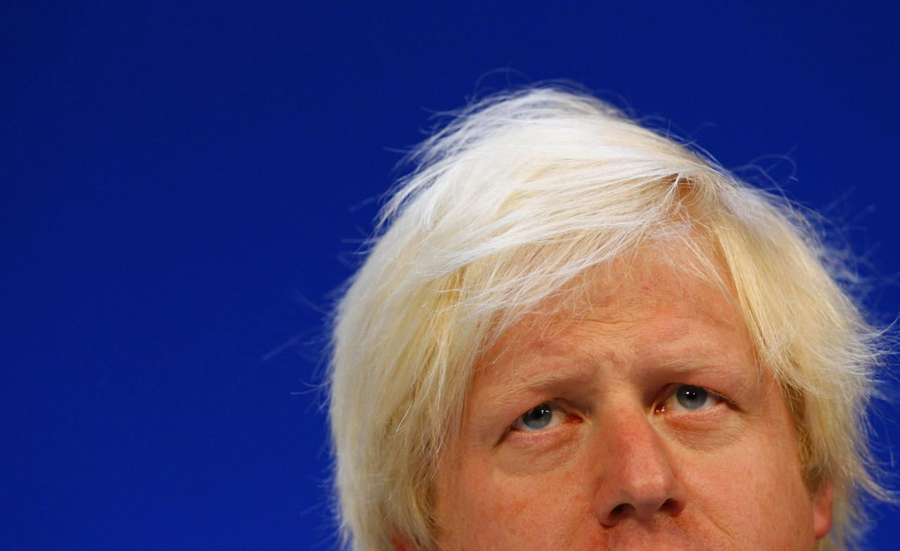 Boris Johnson at a Conservative Party conference in Bournemouth (Picture: PA)