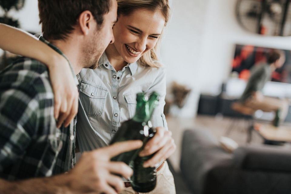 """<p>Pick a specific theme like """"pumpkin beers"""" or """"canned whiskey cocktails"""" and hold an at-home taste test. Try each one blindly, then compare and discuss your ratings. </p>"""