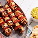 "<p>The marinade is crucial here, so don't skip on allowing the paneer to soak up all those gorgeous, fragrant flavours. Don't forget to wet your skewers, too. Soaking them stops them burning when cooking. </p><p>Get the <a href=""https://www.delish.com/uk/cooking/recipes/a31095229/paneer-tikka/"" rel=""nofollow noopener"" target=""_blank"" data-ylk=""slk:Paneer Tikka"" class=""link rapid-noclick-resp"">Paneer Tikka</a> recipe.</p>"