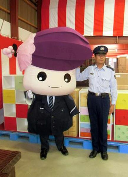 Katakkuri-chan is the mascot of Asahikawa Prison, which bosses unveiled in the hope it would help change the jail's forbidding image