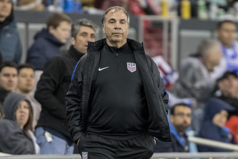 "Former USMNT coach and current New England Revolution boss Bruce Arena doesn't think playing the national anthem before games is ""appropriate"" anymore."