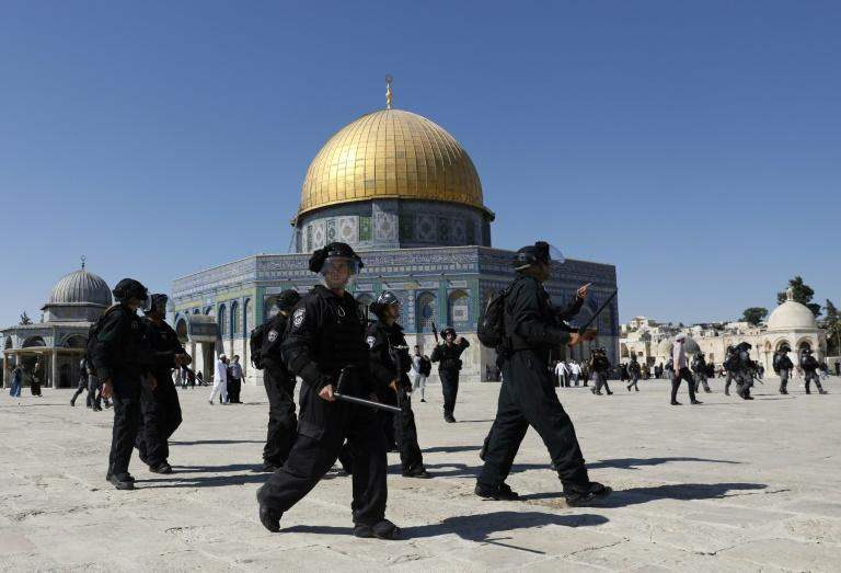 The Al-Aqsa mosque compound is the scene of regular clashes between Palestinian worshippers and Israeli police
