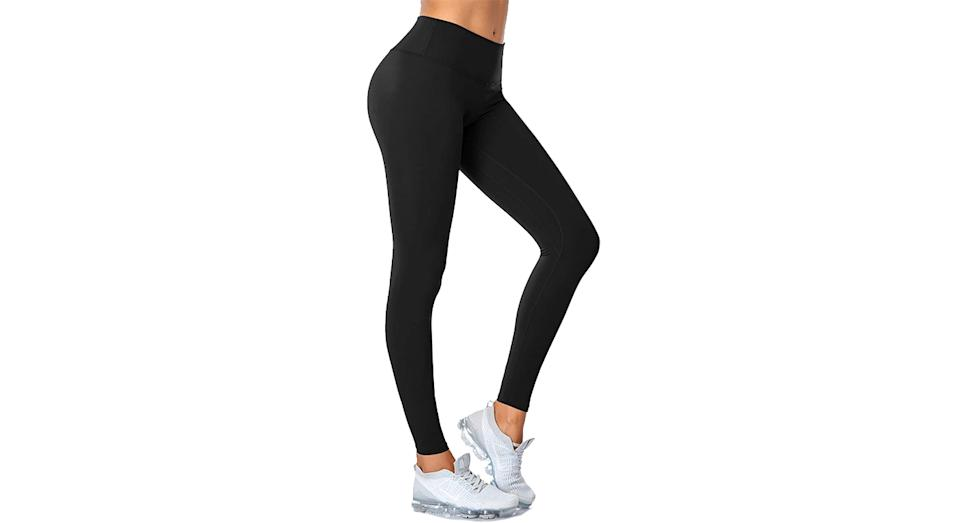 SIMIYA Womens Sports Leggings High Waist Fitness Running Tights