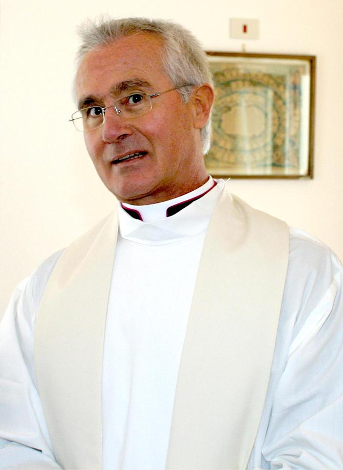 An undated photo of Monsignor Nunzio Scarano in Salerno, Italy. A Vatican monsignor already on trial for allegedly plotting to smuggle 20 million euros ($26 million) from Switzerland to Italy was ordered arrested in a separate case on Tuesday, Jan. 21, 2014 for allegedly using his Vatican bank accounts to launder money. The financial police in the southern city of Salerno said Monsignor Nunzio Scarano's Vatican bank accounts had been used to transfer millions of euros (dollars) in fictitious donations from offshore companies. Police said millions in euros had been seized and that other arrest warrants were issued. Scarano's lawyer, Silverio Sica, said his client merely took donations from people he thought were acting in good faith to fund a home for the terminally ill. He conceded that the money ended up being used to pay off Scarano's mortgage, however. (AP Photo/Francesco Pecoraro)