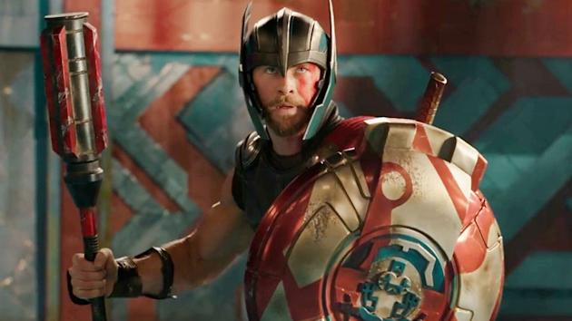 thor and the hulk face off in thor ragnarok first trailer