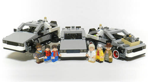 Back to the Future to get the Lego treatment, DeLorean set coming mid-2013