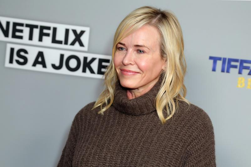 Chelsea Handler is in love with Andrew Cuomo and she wants everyone to know it (Photo by Leon Bennett/WireImage)