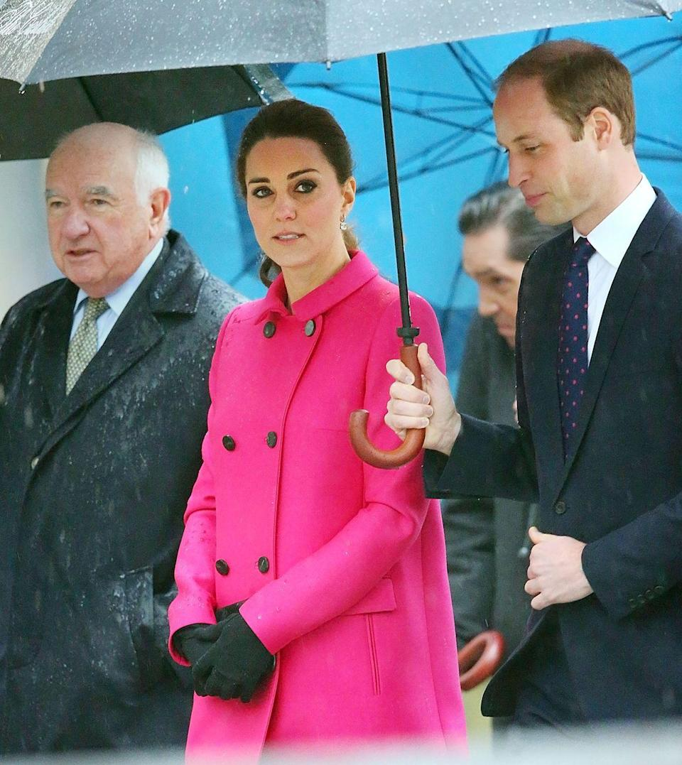 <p>The first time Kate wore the coat was in 2014 when she visited New York City for a short trip with Will.</p>