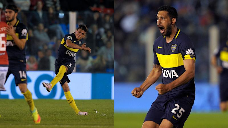 Boca team-mates trade blows in training-ground fight