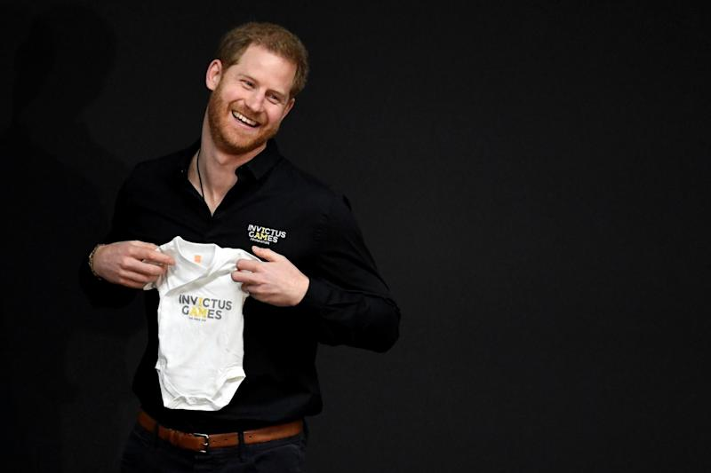 Royal baby Archie gets adorable gift as dad Prince Harry launches countdown to 2020 Invictus Games