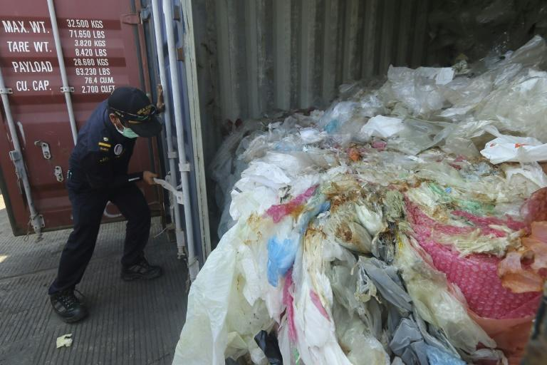 Last month Indonesia returned seven shipping containers of illegally imported waste to France and Hong Kong