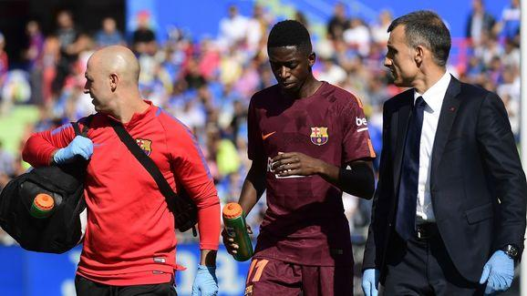 tafe ​Ousmane Dembele's full La Liga debut was cut short after just half an hour on Saturday, after he was seen pulling up with a ruptured tendon.  The £96m Frenchman, who is set to miss three months of the season, was replaced by Spanish international Gerard Deulofeu, who is slowly discovering the potential everyone always knew he had at his second spell at the club. But rather than Ernesto Valverde handing out instructions from the dugout, it was Lionel Messi who directed Deulofeu on where to...
