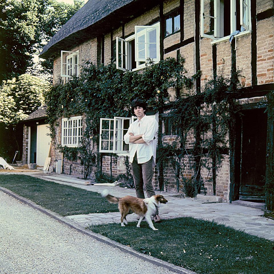 Keith at home. Redlands, East SussexGered Mankowitz