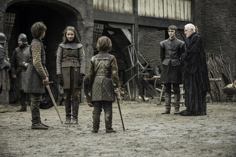 Young Starks Ned Lyanna Brandon Bran vision Game of Thrones