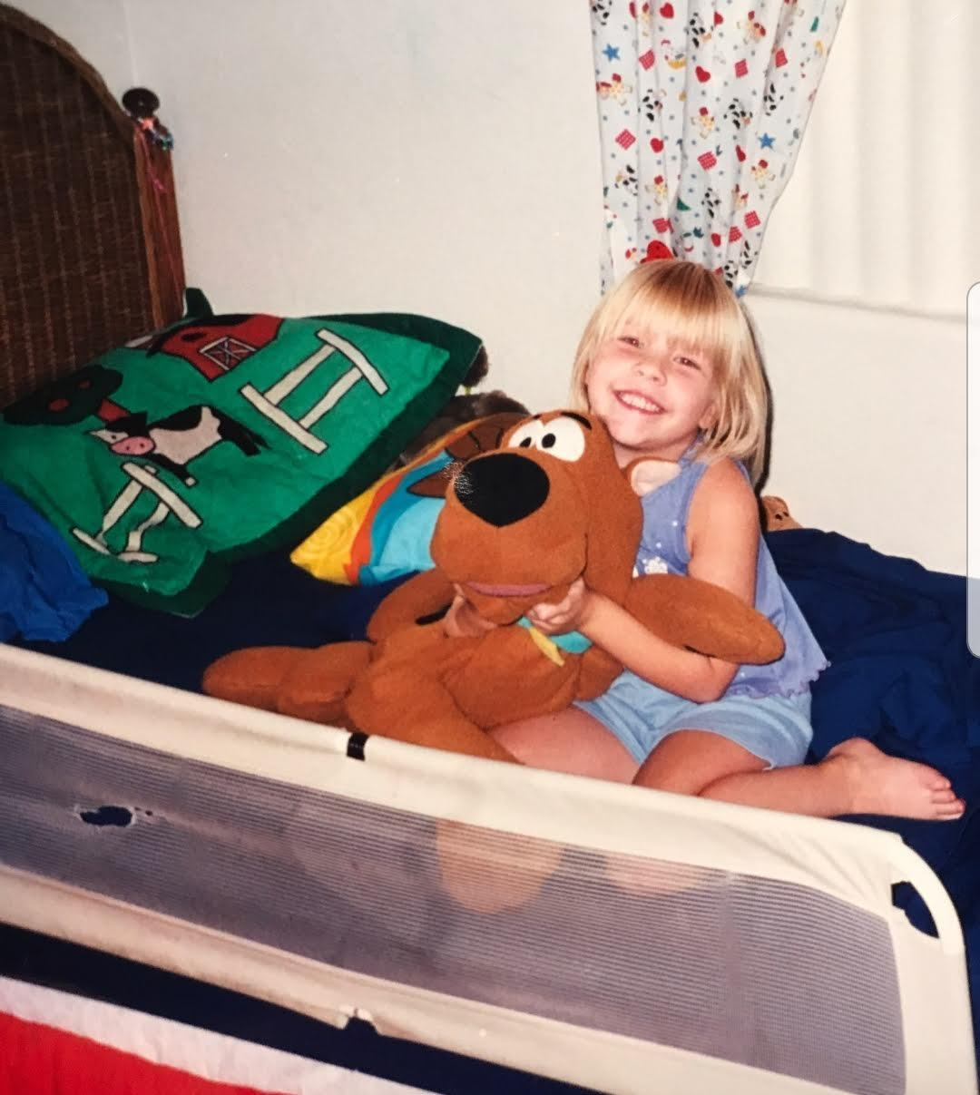 Geneva Heinkel has been a fan of Scooby-Doo her entire life (Photo: Courtesy of Geneva Heinkel)