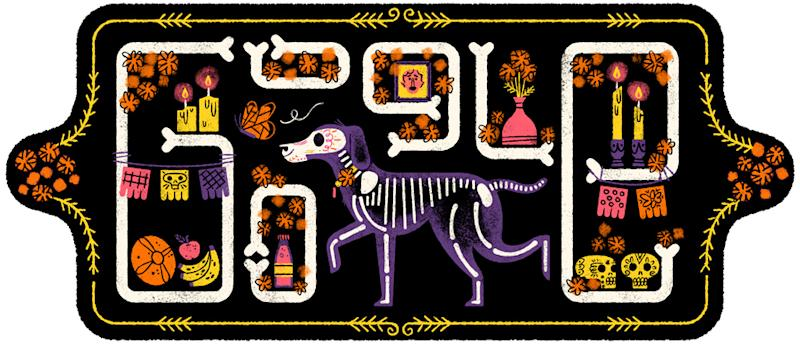 Today's Google Doodle Celebrates Mexican Holiday 'Day of the