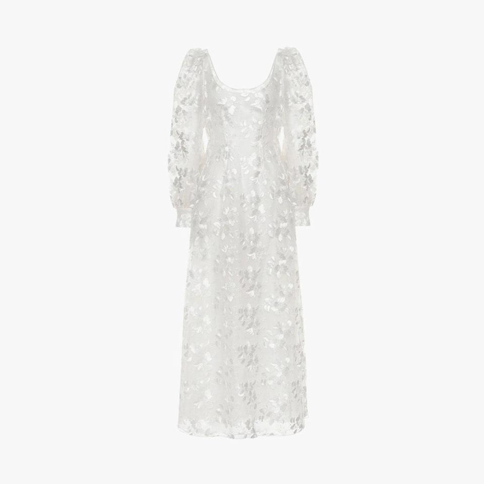 "$3931, MYTHERESA. <a href=""https://www.mytheresa.com/en-us/brock-collection-embroidered-floral-dress-1497873.html"" rel=""nofollow noopener"" target=""_blank"" data-ylk=""slk:Get it now!"" class=""link rapid-noclick-resp"">Get it now!</a>"
