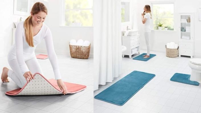 Genteele mats feel gentle on your feet.