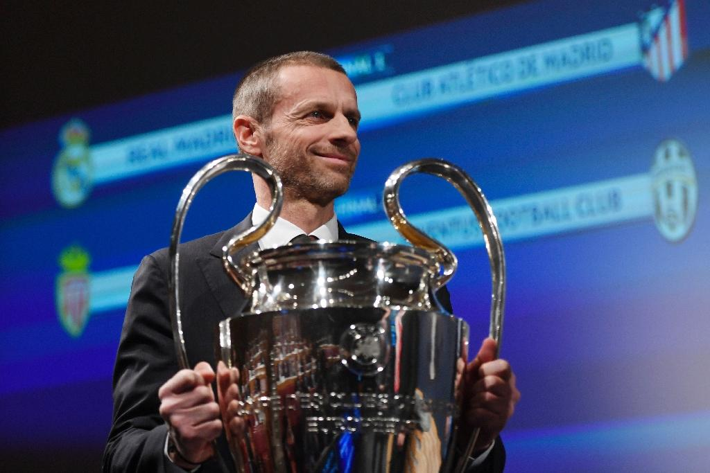 UEFA president Aleksander Ceferin warned Croatia during a visit in December that it risked drastic sanctions for hooliganism, which he labelled a major problem (AFP Photo/Richard Juilliart)