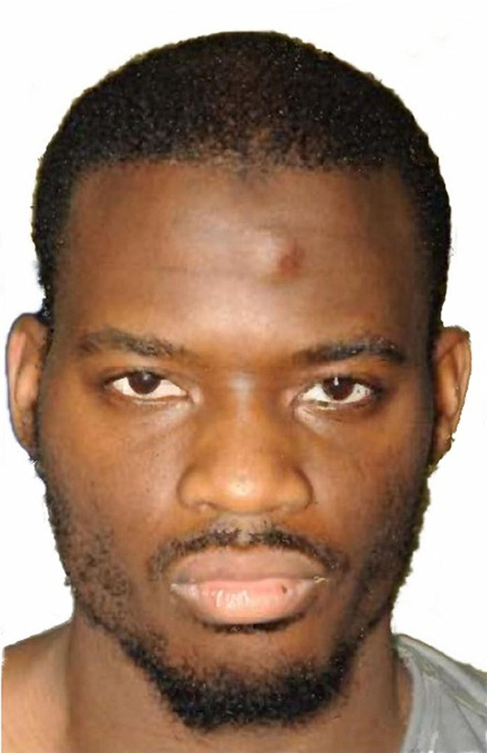 Undated Metropolitan Police file handout photo of one of the two murderers of soldier Lee Rigby, Michael Adebolajo who is suing for compensation two years after his teeth were knocked out during an incident in the high security Belmarsh prison.