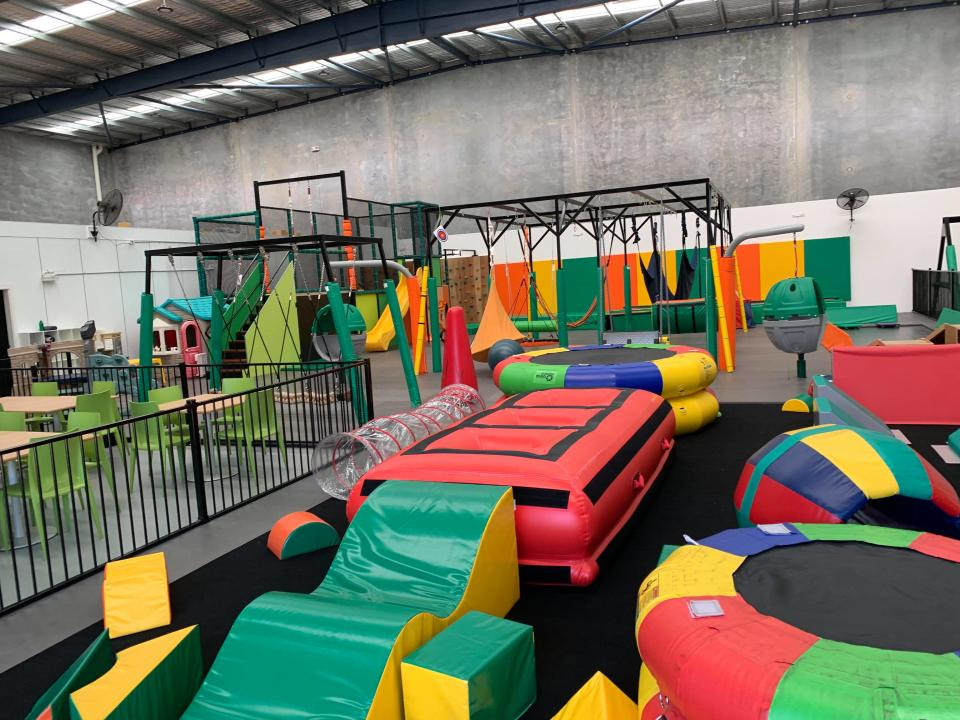 The Shine Shed features an abundance of safe playing equipment suited for people of all ages and abilities. Source: Kerry Phillips