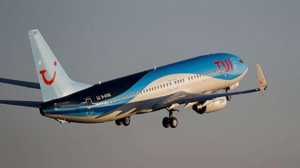 FILE PHOTO: A TUI Boeing 737-800 plane takes off from the airport in Palma de Mallorca, Spain, July 29, 2018. (Paul Hanna/Reuters)