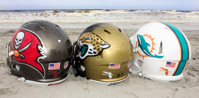 Florida teams for Florida hurricane awareness. (Via NFL)