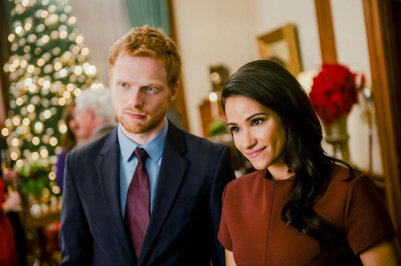 Charlie Field and Tiffany Marie Smith as Prince Harry and Meghan Markle | Lifetime