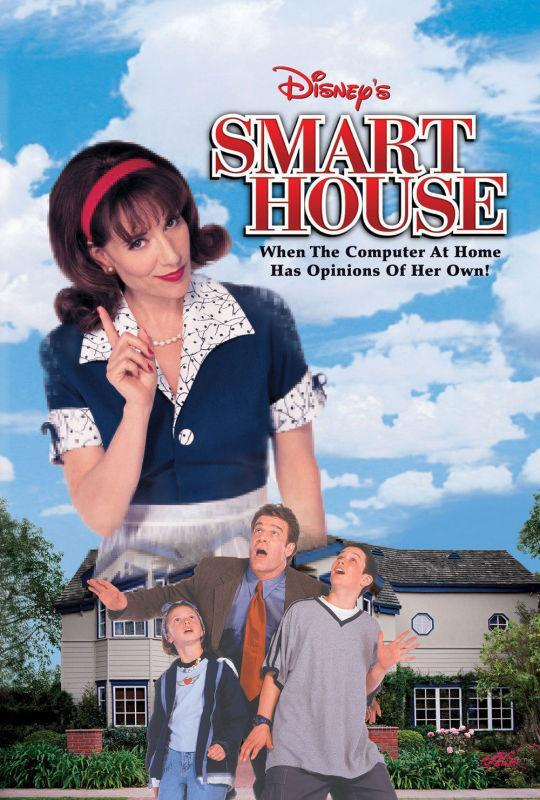 <p>Katey Segal (<i>Married With Children</i>, <i>Futurama</i>) stars as a computer woman (I think?) who controls a fully automated home that goes haywire on a family. In other words, <i>Smart House</i> is a frank and disturbing look at bipolar disorder among suburban housewives.<br><br><i>(Credit: Disney Channel)</i> </p>