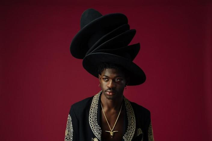 WEST HOLLYWOOD, CALIF. - DECEMBER 05: Lil Nas X poses for a portrait at Cactus Cube Studio on Thursday, Dec. 5, 2019 in West Hollywood, Calif.