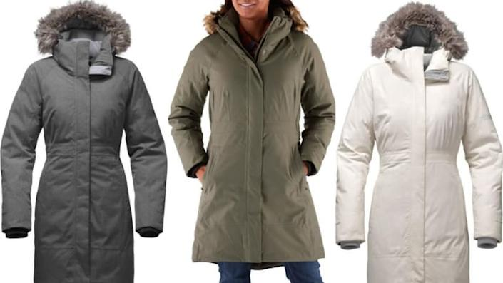 This might be the ultimate cold-weather jacket for women.