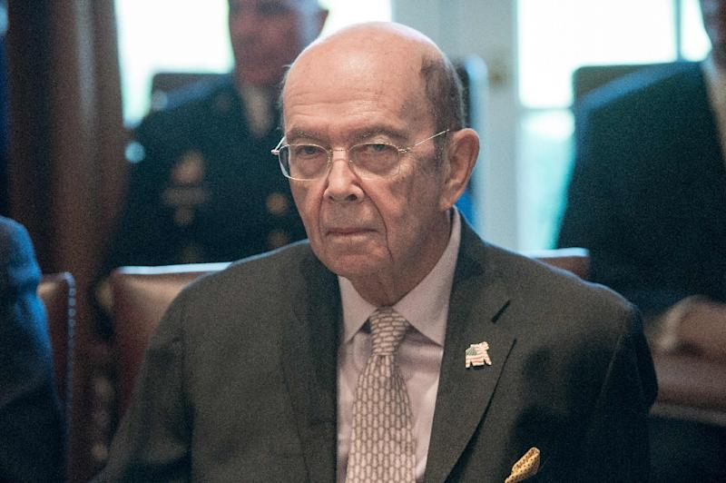 """Commerce Secretary Wilbur Ross said the order would result in analysts going """"country by country, and product by product,"""" reporting back to Trump within 90 days (AFP Photo/NICHOLAS KAMM)"""