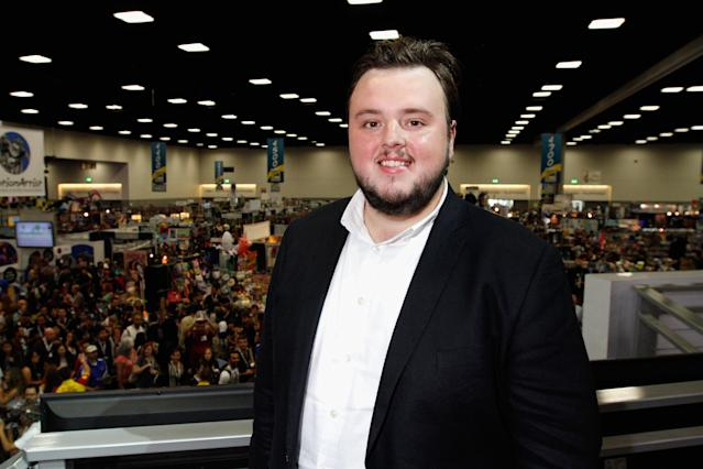 "John Bradley attends HBO's ""Game of Thrones"" cast autograph signing at San Diego Convention Center on July 19, 2013 in San Diego, California."
