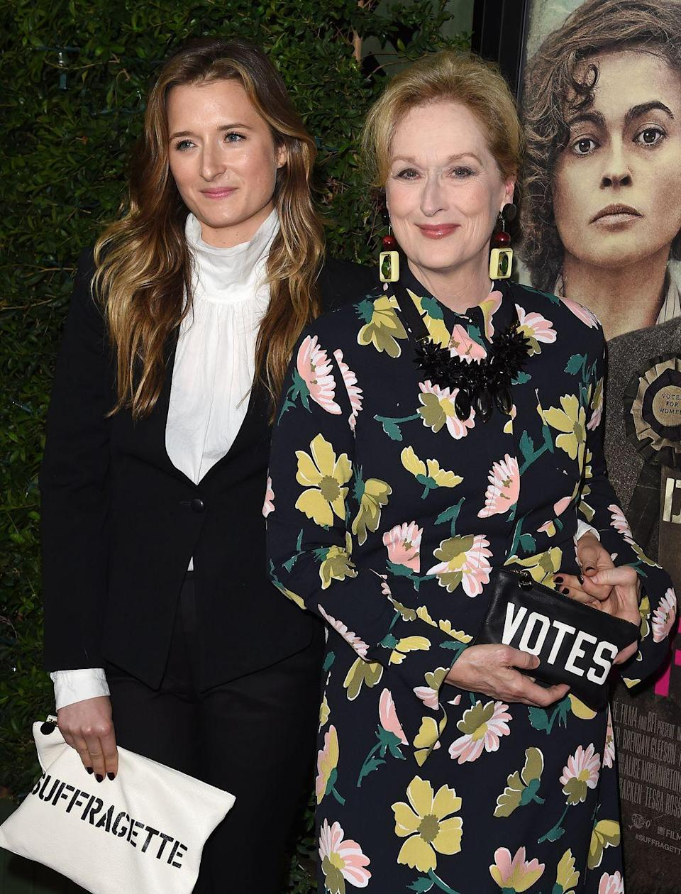 <p>God, what I wouldn't give to be Meryl Streep's daughter. No offence, Mum...</p>